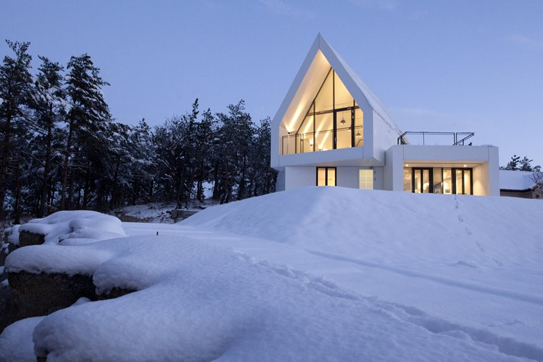 House in White