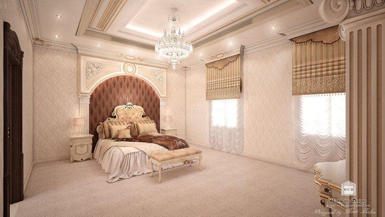 classic design of master room   Nouri bahri