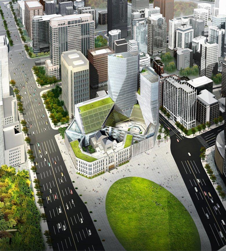 Proposta per la nuova City Hall di Seoul