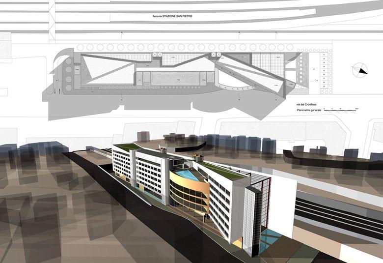 Complesso Edilizio plurifunzionale presso la Stazione di san Pietro