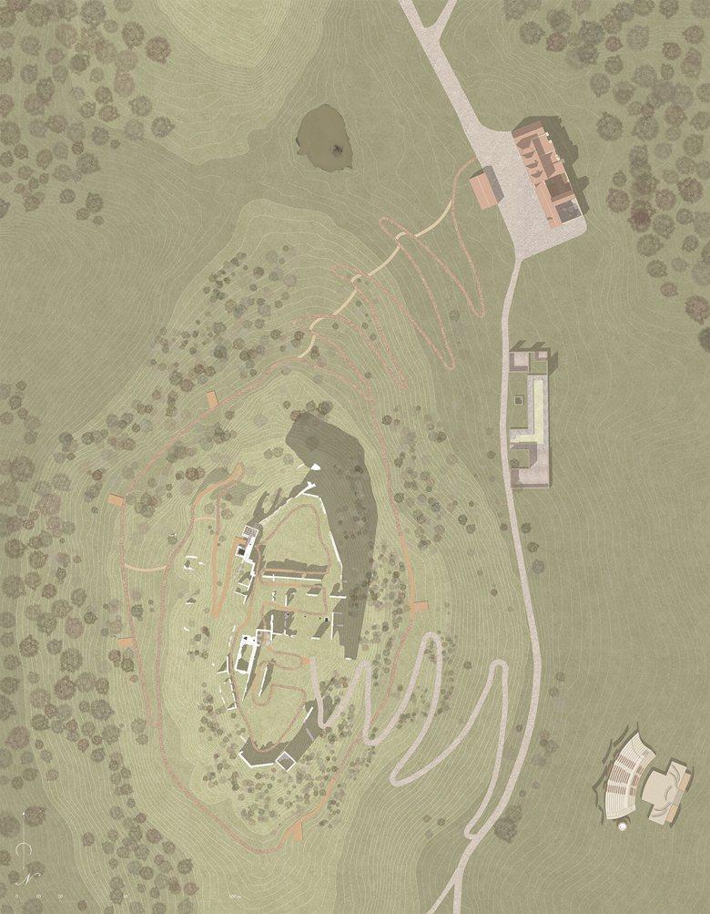 Architettura dei castelli: il sito fortificato di Uggiano