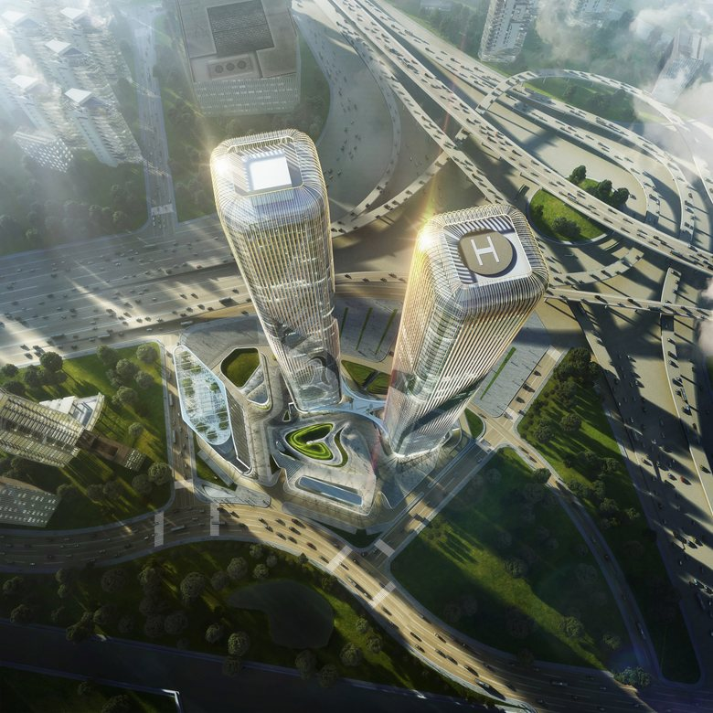 Zhejiang Gate Towers