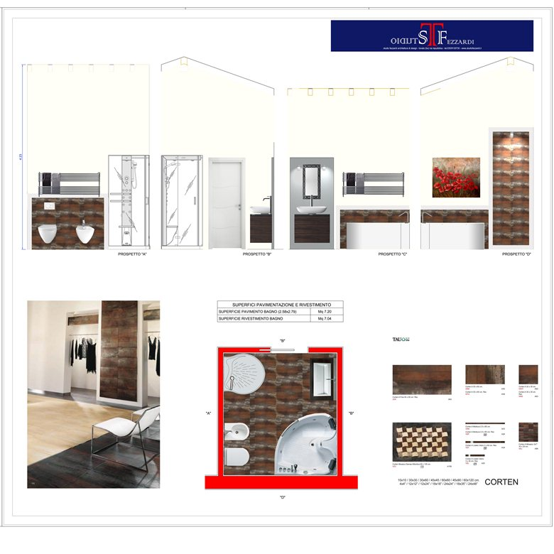 Renovation & Detail - Stanza da bagno Silvia
