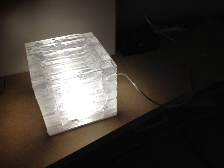 LAMPE PLEXI