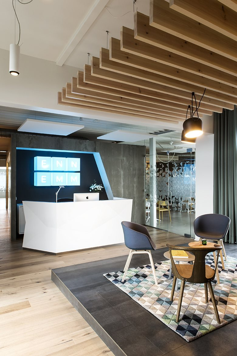 Interiors for an advertising agency