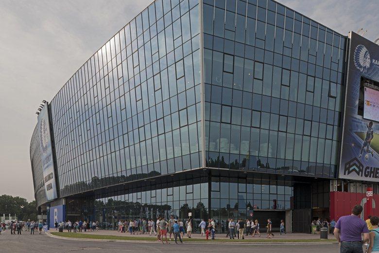 Ghelamco Arena and Dakar Ghent