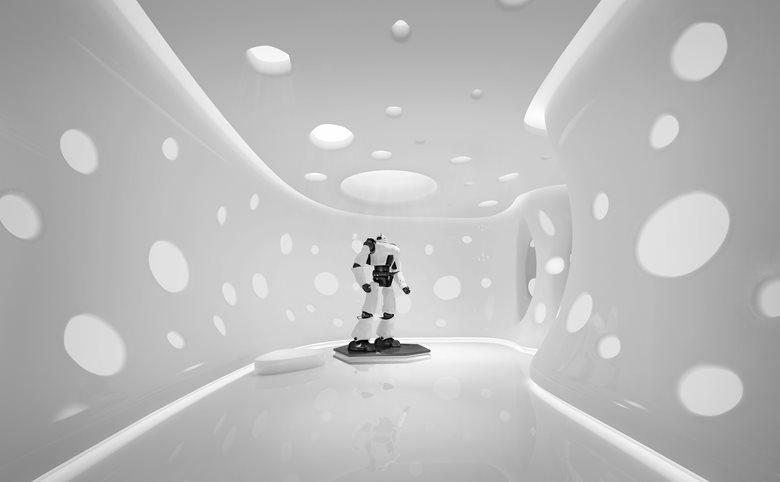Robotics Company's Futuristic Office (upcoming project)