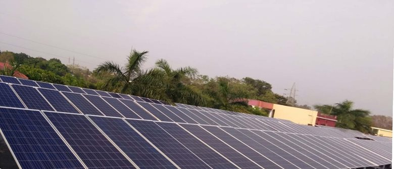 50 KWp Solar On Grid Rooftop System at St. Thomas Senior Secondary School