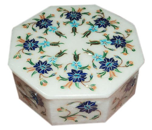 MARBLE INLAY BOX ( MANUFACTURERS )