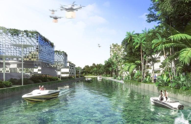 Smart Forest City Cancun