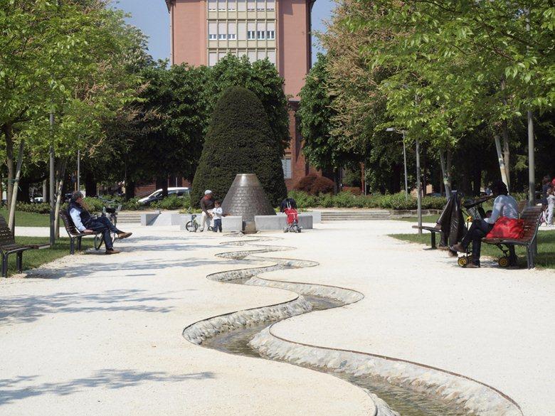 Restauro dei Giardini del Passeggio a Lodi