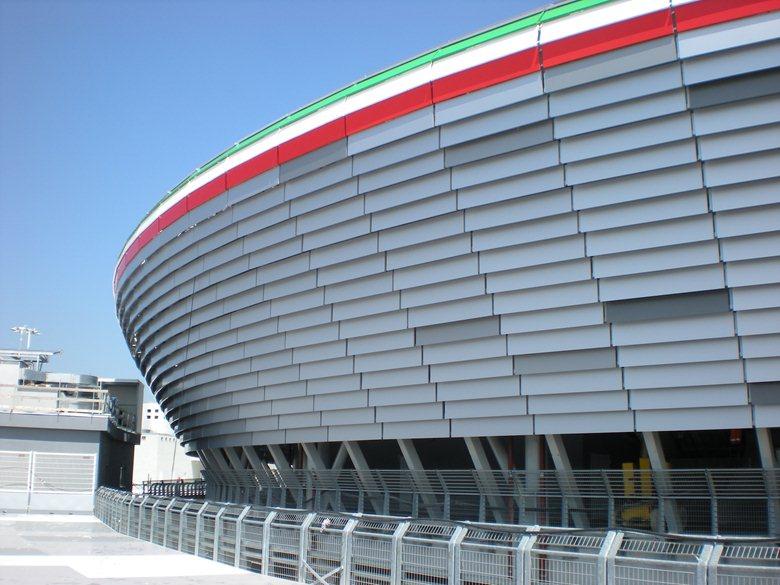 New Juventus stadium