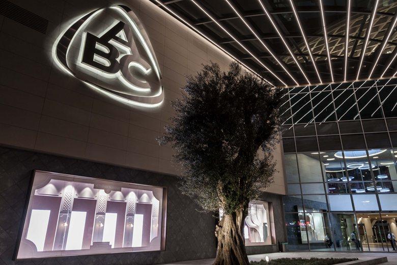 ABC Verdun department store interior, Beirut