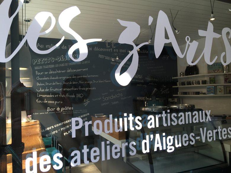 Café Les Z'Arts / Fondation Aiguës Vertes / GENEVE