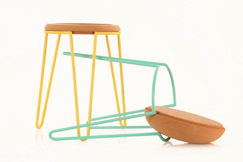 Sputnik stool & table
