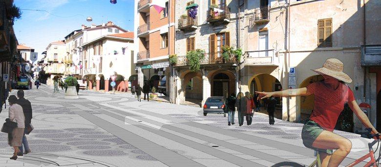 Riqualificazione degli spazi pubblici del centro storico di Gattinara