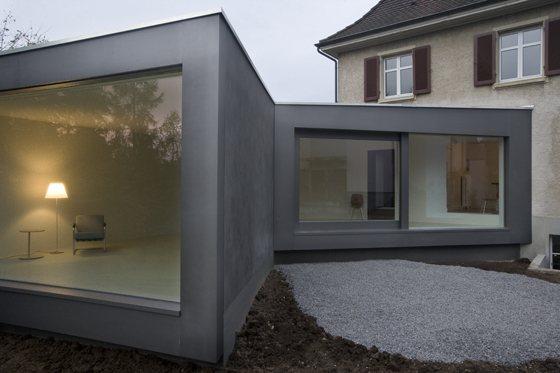 Annex of a residential house in Muttenz, Switzerland