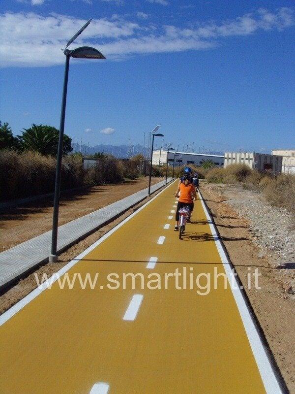Smartlight to Cagliari (Sardinia) in Italy
