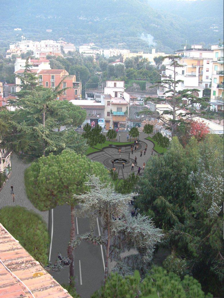 Restauro urbano di piazza Ganci