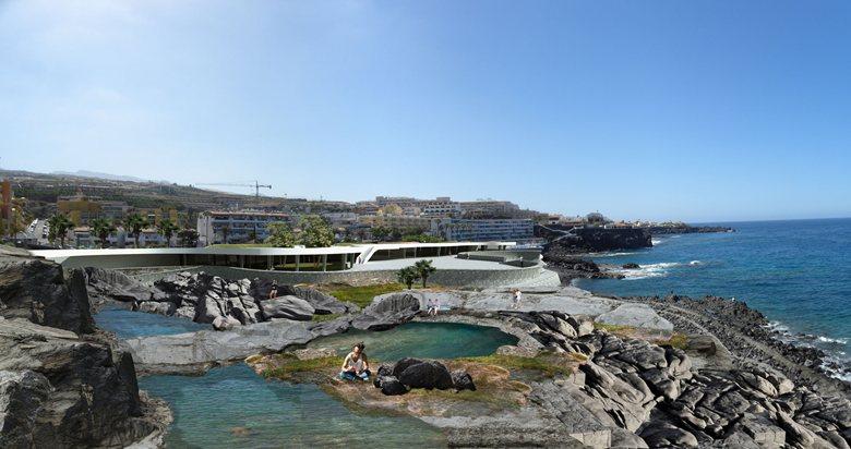 Regeneración del litoral en el entorno de la Plaza de Puerto Santiago