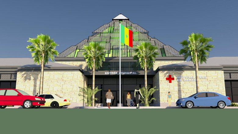 Dakar City Hospital, Dakar, Senegal