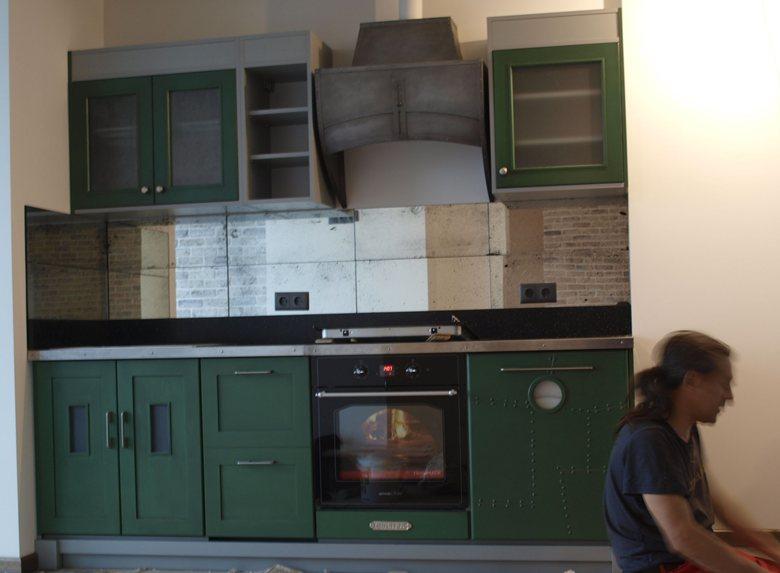 Кухня эклектика