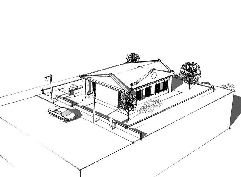 progetto di una villa unifamiliare