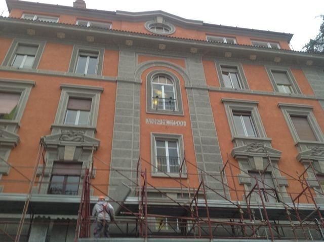 Restauro facciate e copertura sede ANCE , via Guattani 24 Roma