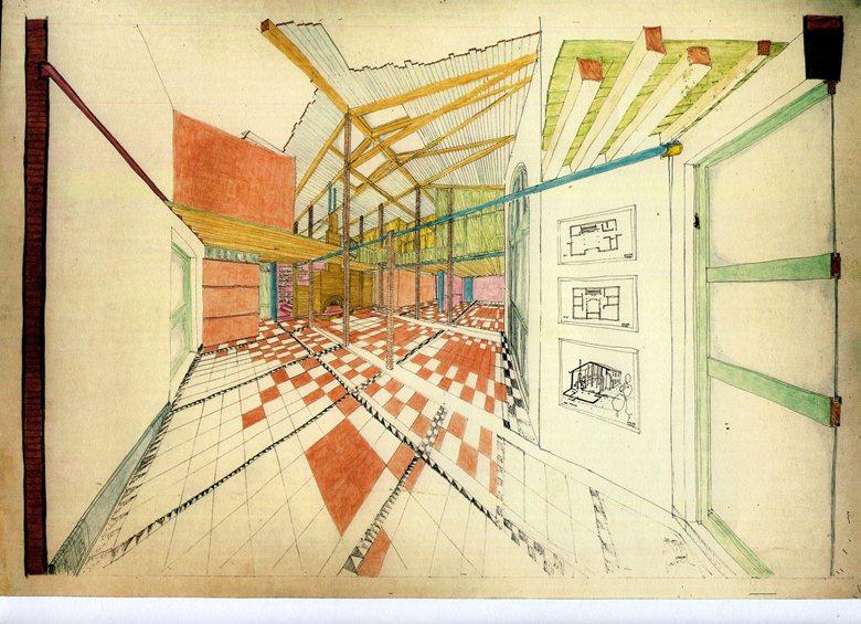 casa ADLER ristrutturazione  1994