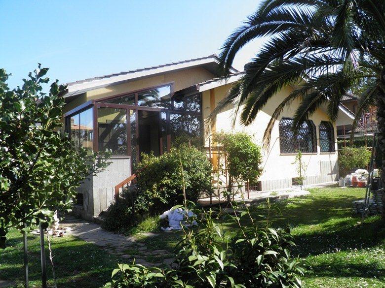 Serra bioclimatica in villa