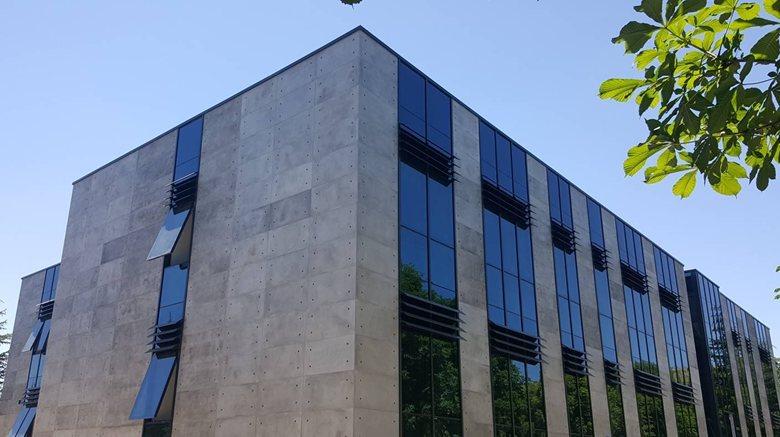 Exterior Facade Cladding With Cretox Concrete Panels