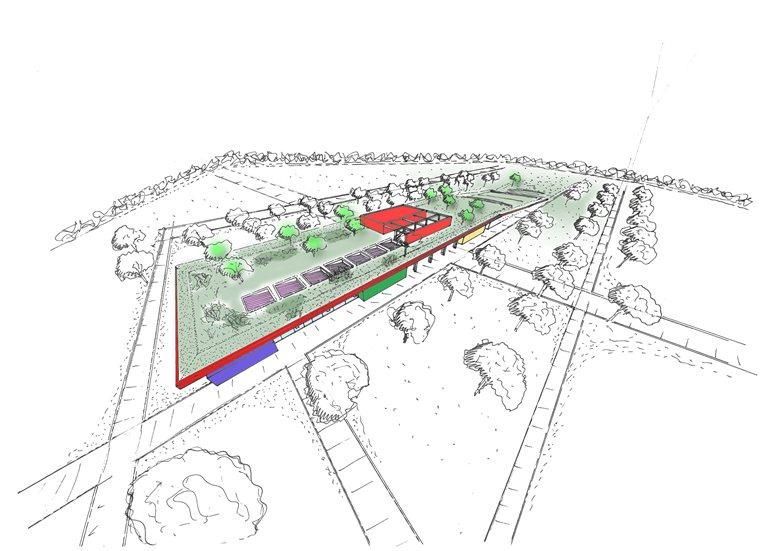 Centro Polisportivo a servizio della città – porto a Rosarno (Gioia Tauro)