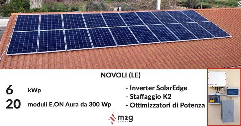 Impianto Fotovoltaico 6 kWp