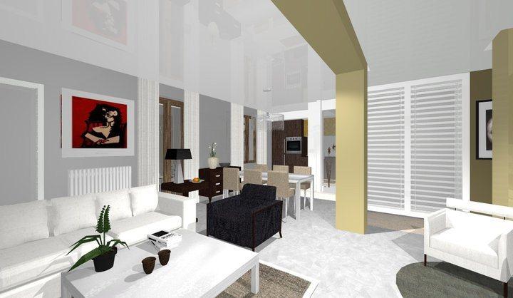 Progettazione d'interni residenza privata