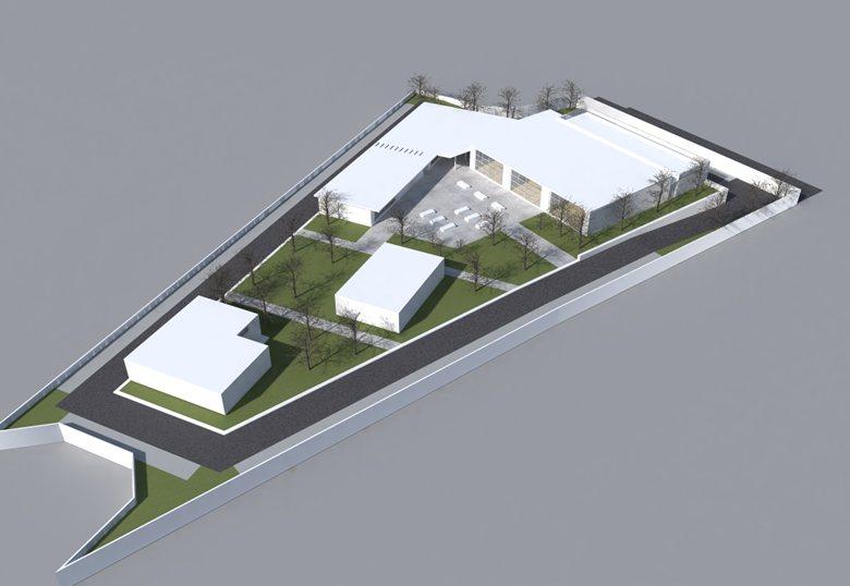 Progetto di un centro sportivo