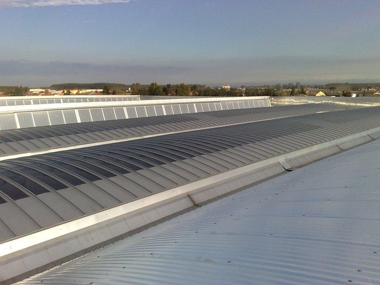 Seletti Spa - Ampliamento capannoni. Nuova copertura con impianto fotovoltaico integrato