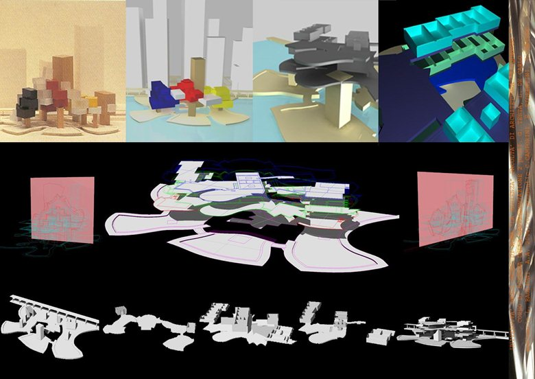 MODELLAZIONE 3D - Guggenheim Museum of NY di F. Gehry
