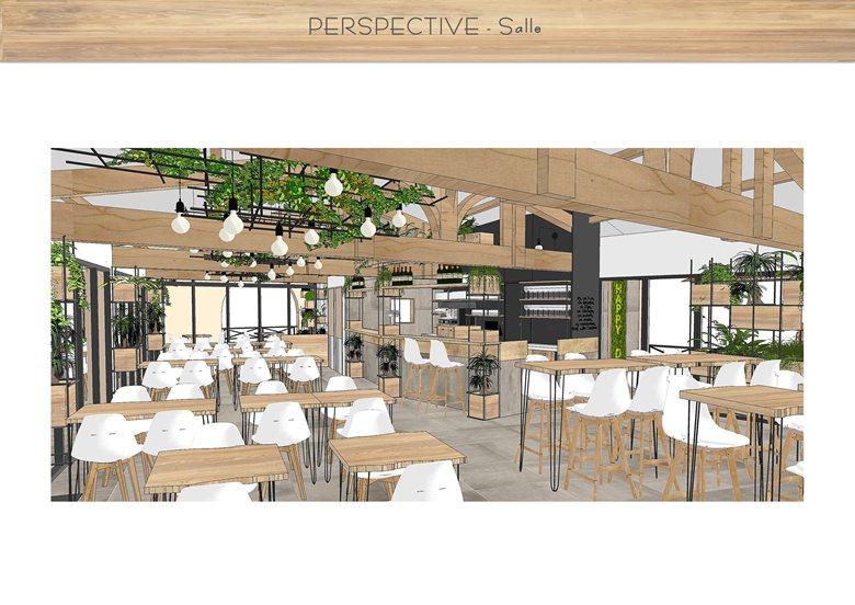 Design commercial - Restaurant