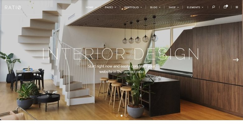 30 Astounding Interior and Exterior Design WordPress Themes