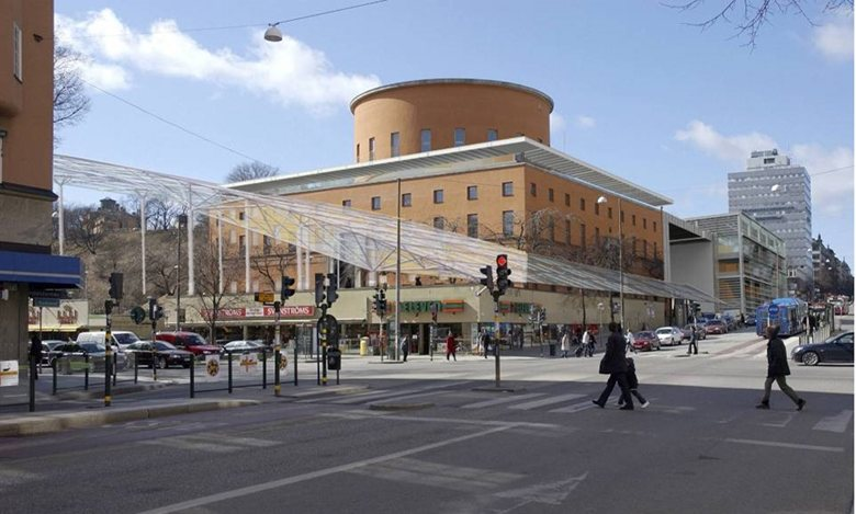 Architectural Competition; Asplund , the Stockholm City Library.