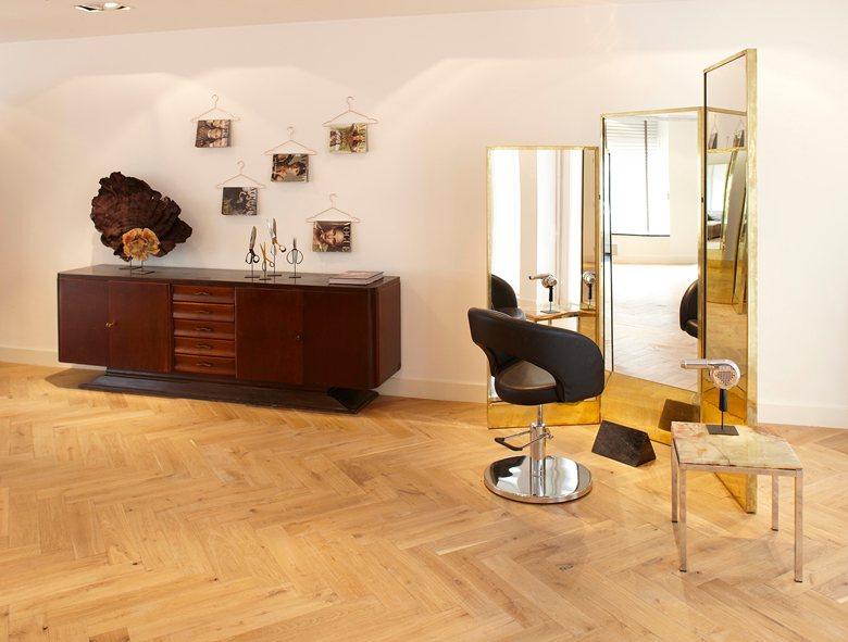 The Building Hair salon