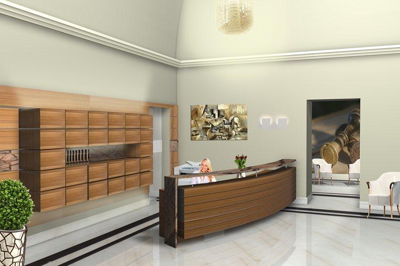Reception studio notarile_ render