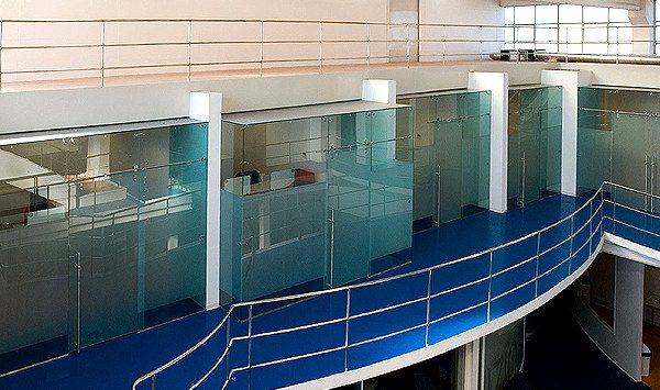 Uffici in un centro di produzione televisiva