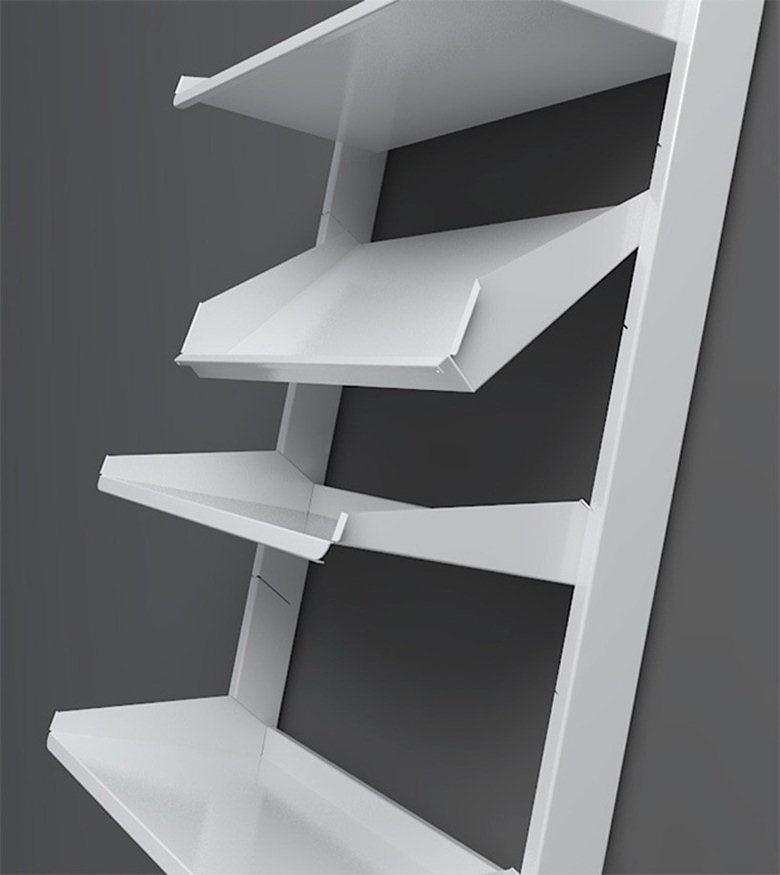 Totem shelves