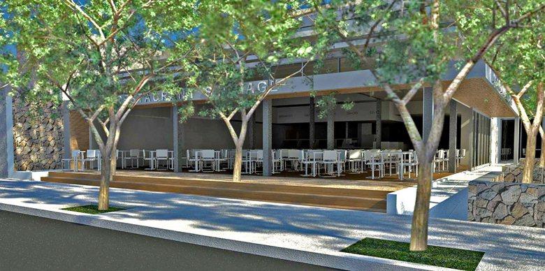 Restaurant Design (CAD renderings)