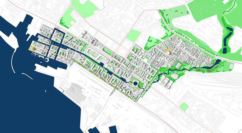 Tolerant City - Masterplan area ''H+''
