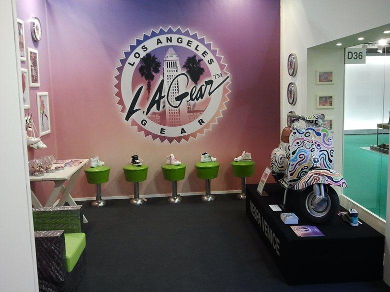 MICAM 2012 - Vespa Venice & L.A. GEAR