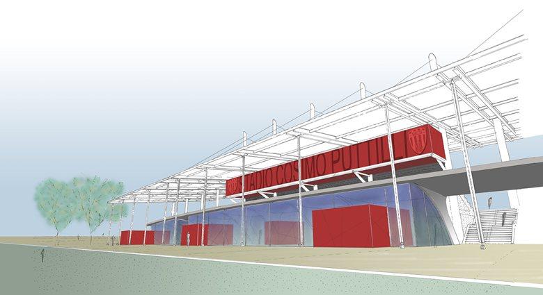 Rifunzionalizzazione dello Stadio Puttilli a Barletta