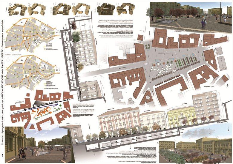 Concorso di progettazione in due gradi per la RIQUALIFICAZIONE della PIAZZA LIBERTA' - Comune di Avellino
