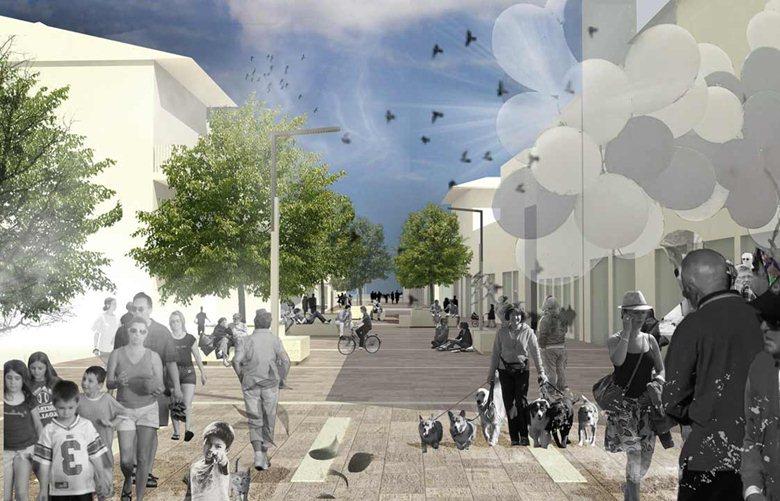 Riqualificazione spazi pubblici da piazza della Repubblica a piazza 1° Maggio